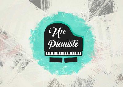 Identité visuelle et sonore – Un pianiste