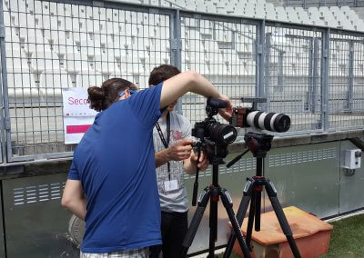 Making-of Sport2Job Stade des Alpes 12