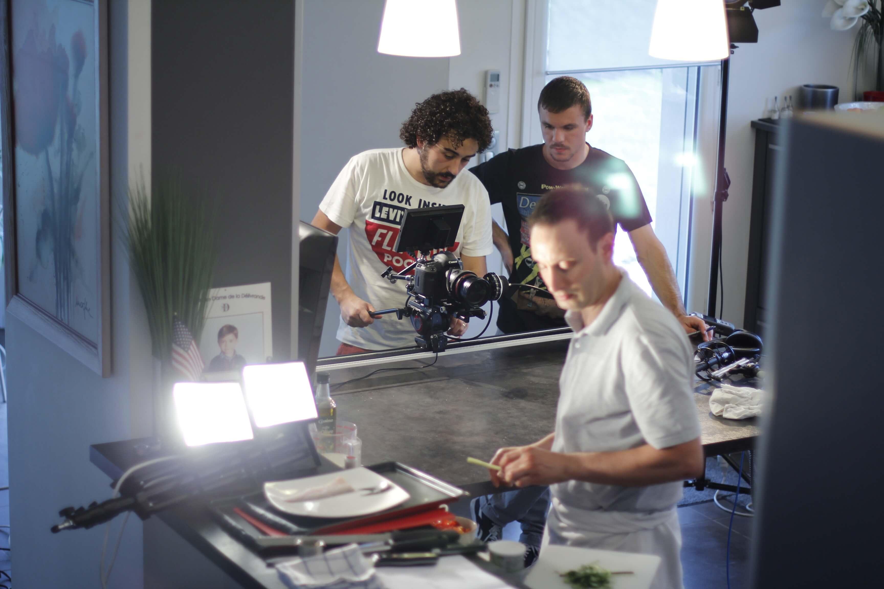 Making-of Le bon chef 16
