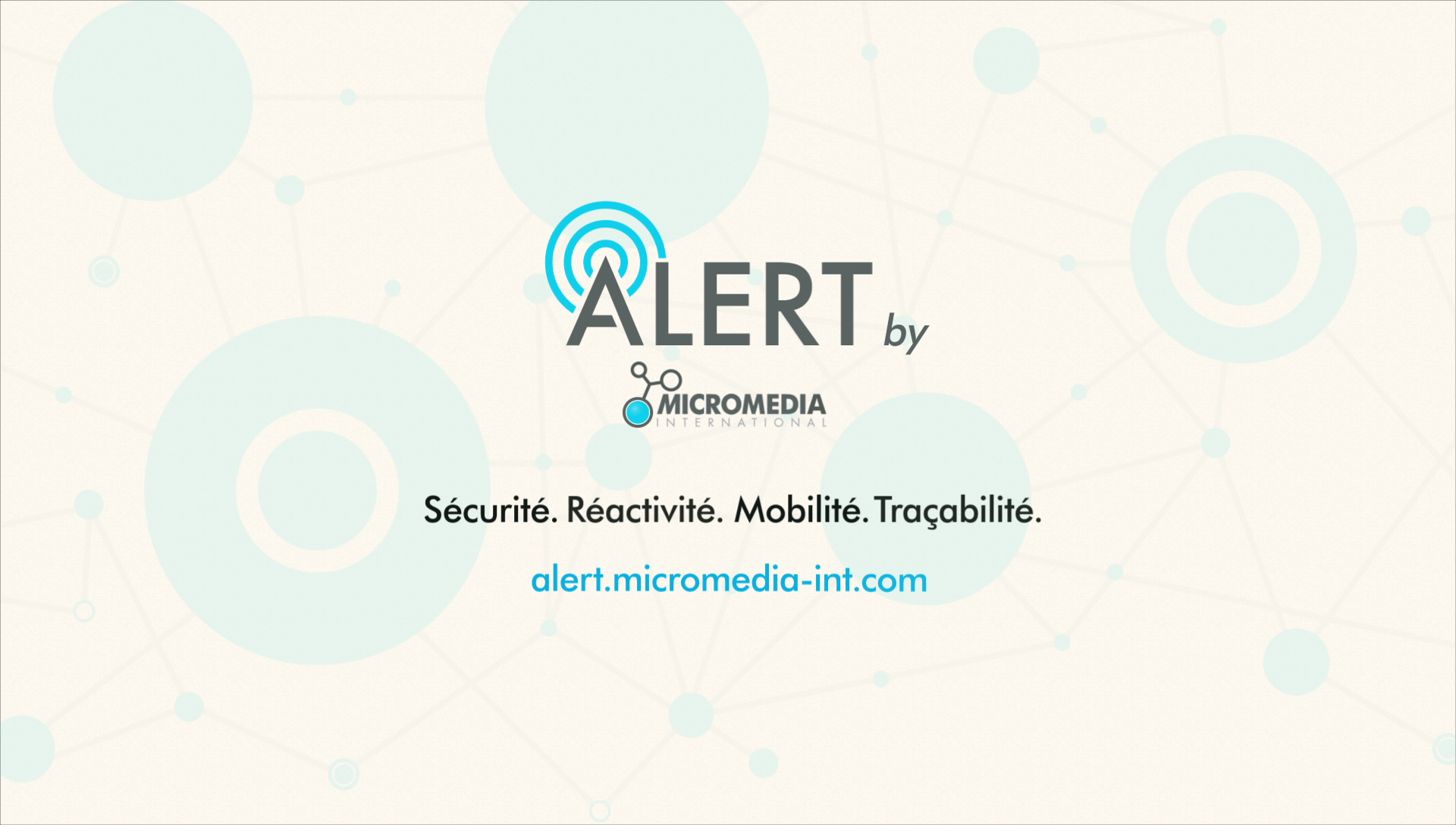 Alert Micromedia - Motion design