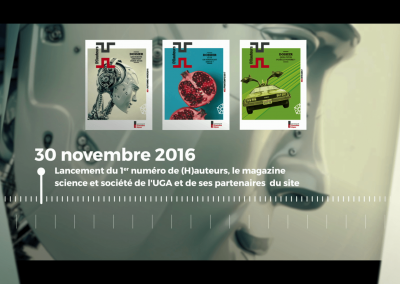 Bilan UGA - Motion design
