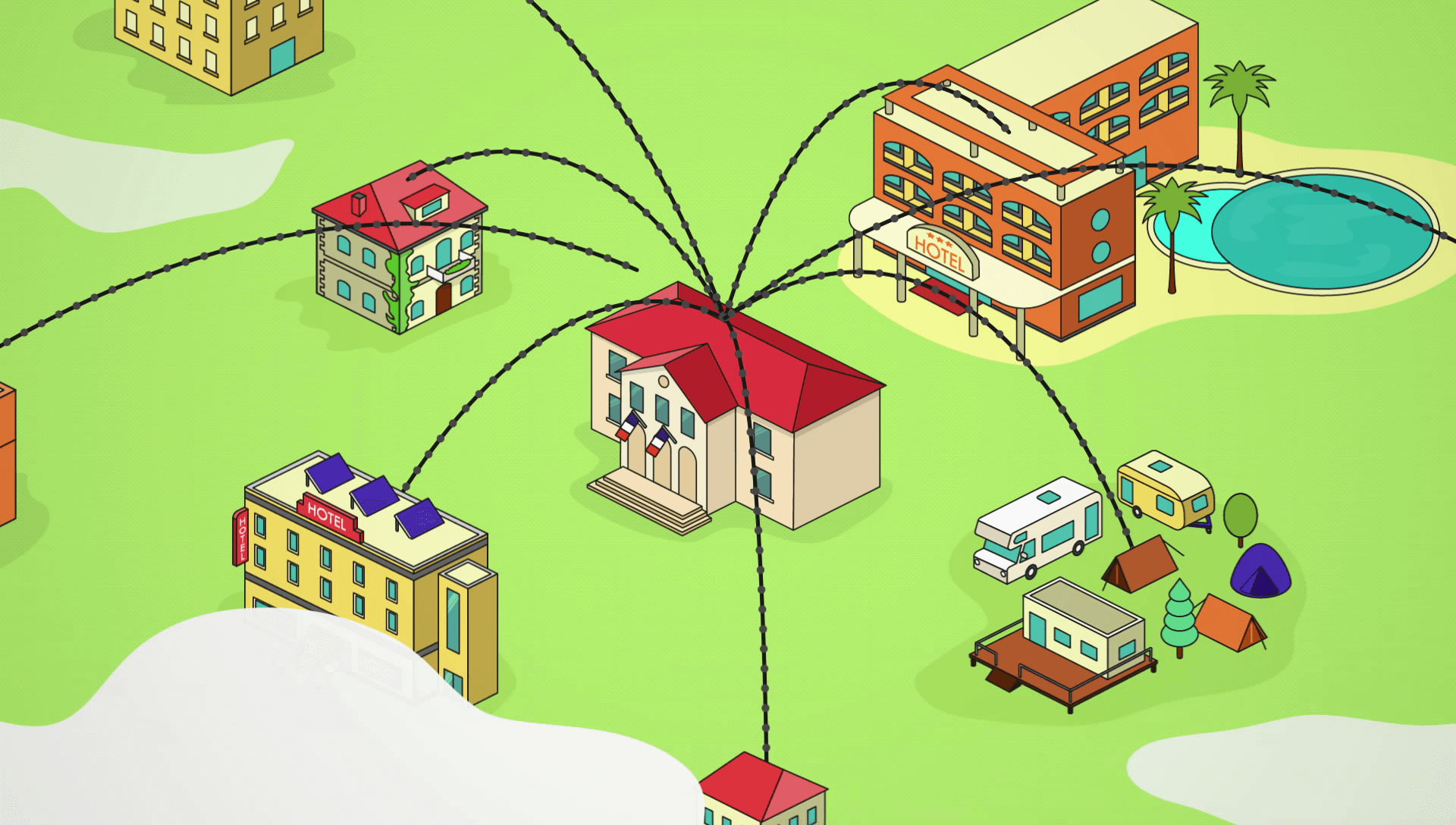 Taxe séjour - Motion design