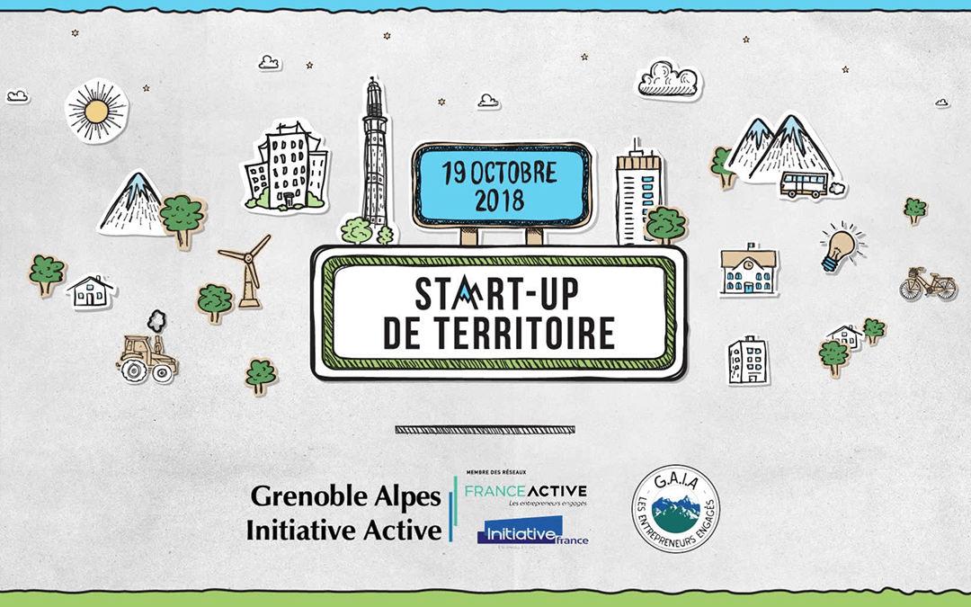 Identité visuelle et sonore – Startup territoire Grenoble