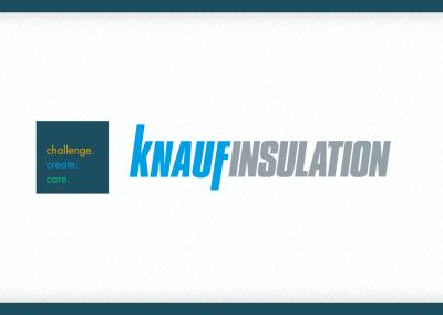 Identité visuelle et sonore – Knauf Insulation