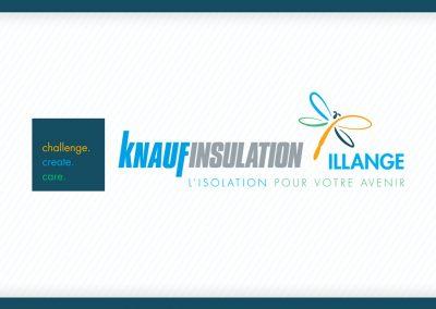 Identité visuelle – Knaufinsulation Illange